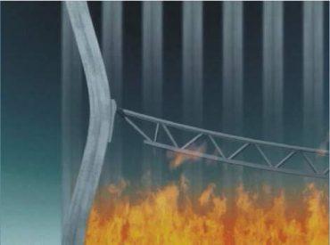 Ťahanie externých stĺpov prehýbajúcimi sa podlažiami podľa NIST