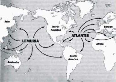 """Číslo 8 Nekonečné legendy """"gods """" cestovat z propadlé země založit civilizace kolem světa mohou být vysvětleny hnutím z osídlí od Atlantis v Atlantském Oceánu a Lemuria, nebo Mu v Pacifiku"""