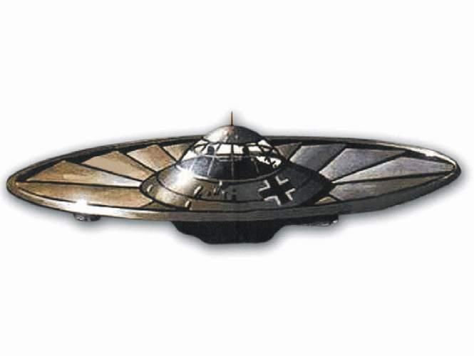 10. Hitler chtěl nasadit UFO!