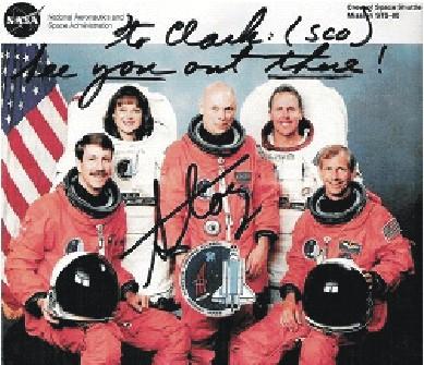 Na podporu mého přítele, statečného ASTRONAUTA US NASA,…