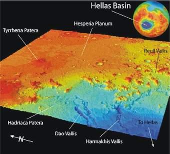 Nová studie povrchu Marsu