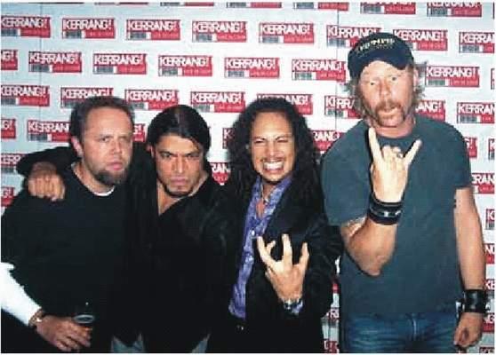 Roková kapela Metallica, všetci uznávajú Texas UT?
