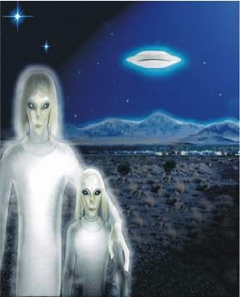 (kresba: Vysoký bílý s dítětem)