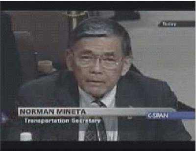 Svedectvo Normana Minetu pred 9/11 Komisiou