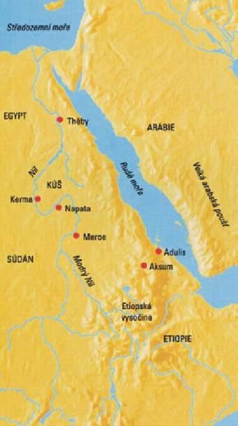 8. Tajemná říše černých faraonů