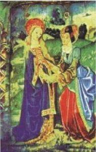 7b) Gobelín z 15. storočia Notre-Dame