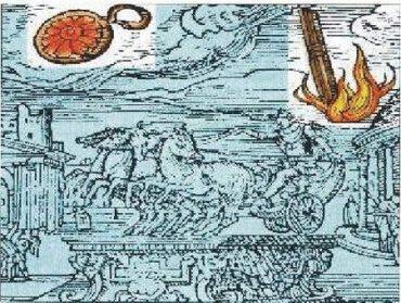 11) Pozorovanie UFO v Ríme v období renesancie
