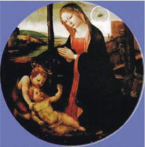 16a) Madonna so Svätým Giovanninom a UFO