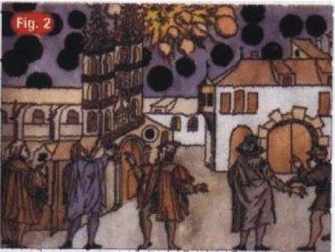 23) Pozorovanie UFO v Bazileji 1566