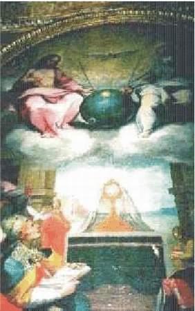24) Sputnik pri oslave oltárnej sviatosti 1600