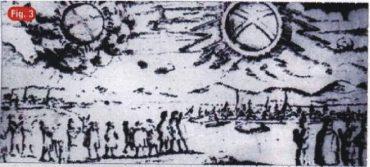 27) Pozorovanie UFO nad Hamburgom 1697