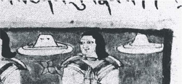 5b) Indické lietajúce klobúky s okienkami - detail