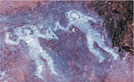 6) Jaskynná maľba Val Camonica, Taliansko