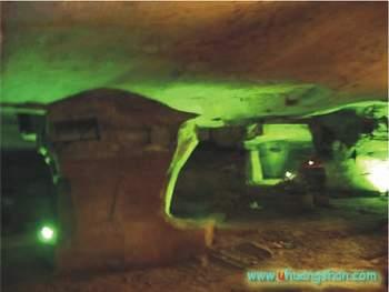 Tajemné jeskyně Chua-šan