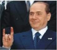 znova Berlusconi, vo farbe